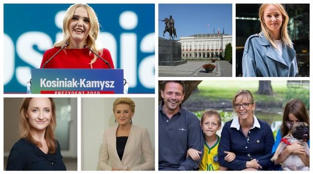 Kandydatki do roli pierwszej damy RP. Wybory 2020.Zobacz kolejne zdjęcia. Przesuwaj zdjęcia w prawo - naciśnij strzałkę lub przycisk NASTĘPNE