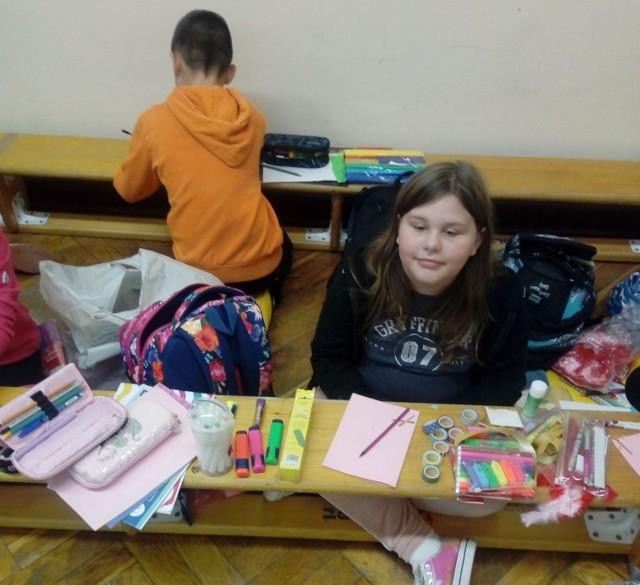 W szkole w Promnie zorganizowano akcję pisania listów.
