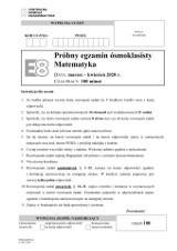 Próbny egzamin ósmoklasisty 2020: odpowiedzi matematyka online - jakie były zadania? [ARKUSZ CKE] 01.04
