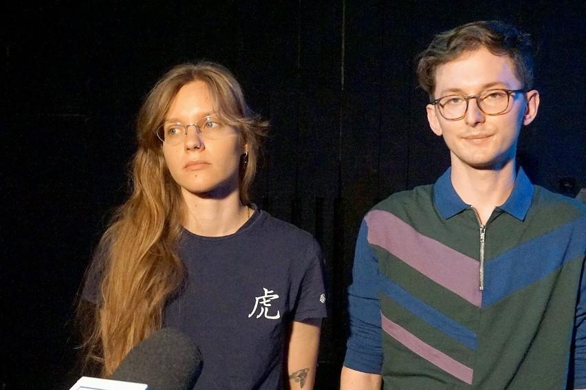 Olga Ciężkowska i Maciej Hanusek.