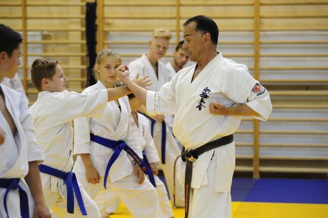 Przedstawiciele Klubu Karate Morawica wzięli udział w wyjątkowym obozie w Kielcach.