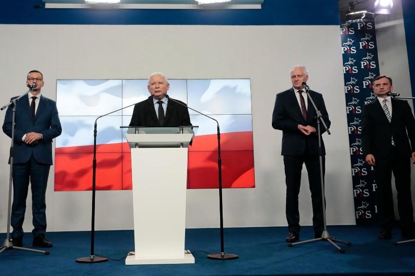 """Spotkanie liderów ZP ws. Nowego Ładu. """"Zbliżenie w paru..."""
