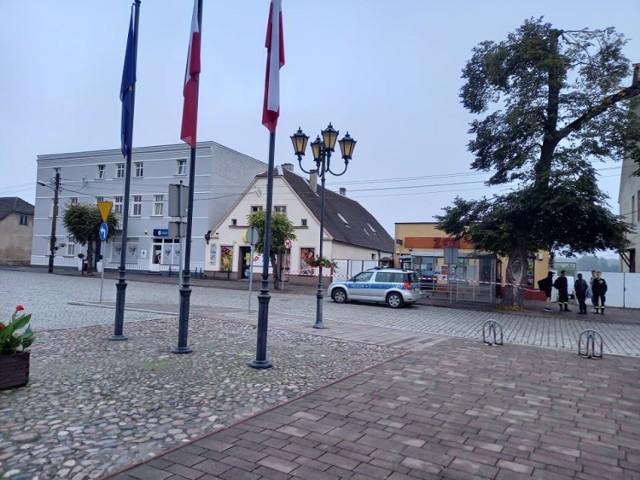 W Dusznikach i Obrzycku wysadzono bankomaty. Służby pracują na miejscu