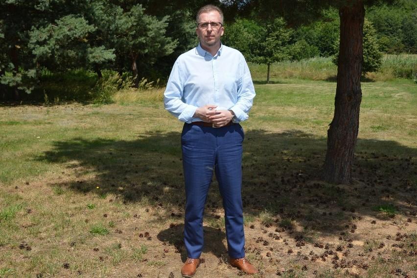 Mirosław Gąsik, burmistrz Szprotawy SMS: FIS.15 na nr 72355