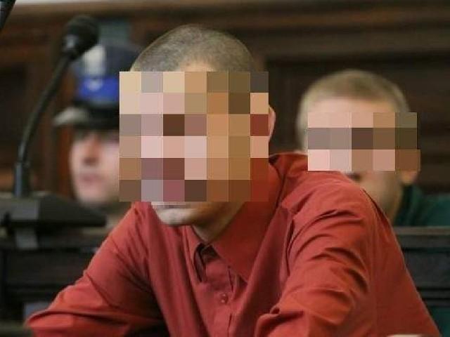 Krzysztof D. (na zdjęciu z przodu) i jego rówieśnik Patryk O. (w głębi).
