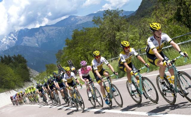 Liderem Giro d'Italia nadal jest Steven Kruijswijk