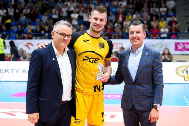 Od prawej: Tomasz Liedmann, Dusan Petković, Wojciech Rozdolski