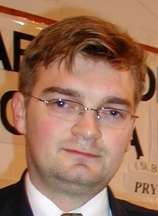 Rafał Oleszek, nowy przewodniczący Rady Miejskiej w Przemyślu.