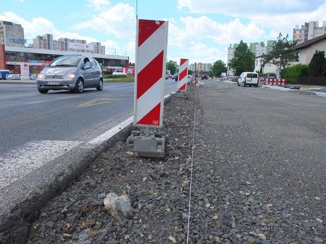 Ulica Niemodlińska.