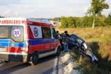 Zderzenie czterech samochodów w Kołaczkowie. Poszkodowane 4 osoby. Ruch jest wstrzymany