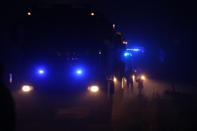 Wrocław, pożar domu jednorodzinnego na Ołtaszynie