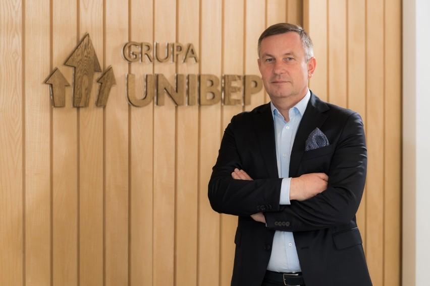 Prezes Unibepu Leszek Gołąbiecki: Dobra sprzedaż mieszkań napędziła wyniki Grupy Unibep