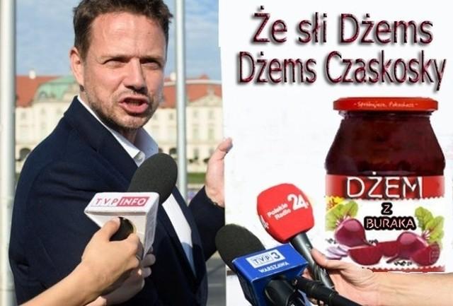 Dżem Trzaskowskiego powrócił i ożywił dyskusję publiczną. Zobacz memy