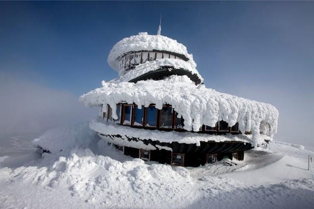 Obserwatorium meteo na Śnieżce