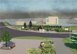Ścieżki edukacyjne i nowe wizualizacje placu Szarych Szeregów w Kolumnie. ZDJĘCIA