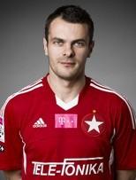 Paweł Brożek zdobył dwie bramki w meczu z Pogonią.