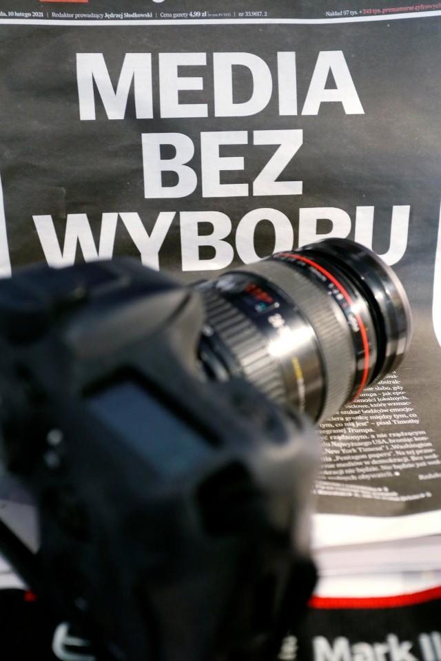 """""""Media bez wyboru"""". Muller: Dziwi mnie forma protestu"""