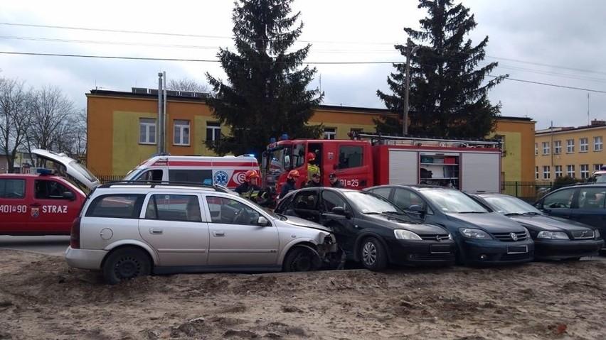 W piątek na ulicy Targowickiej w Białobrzegach doszło do...