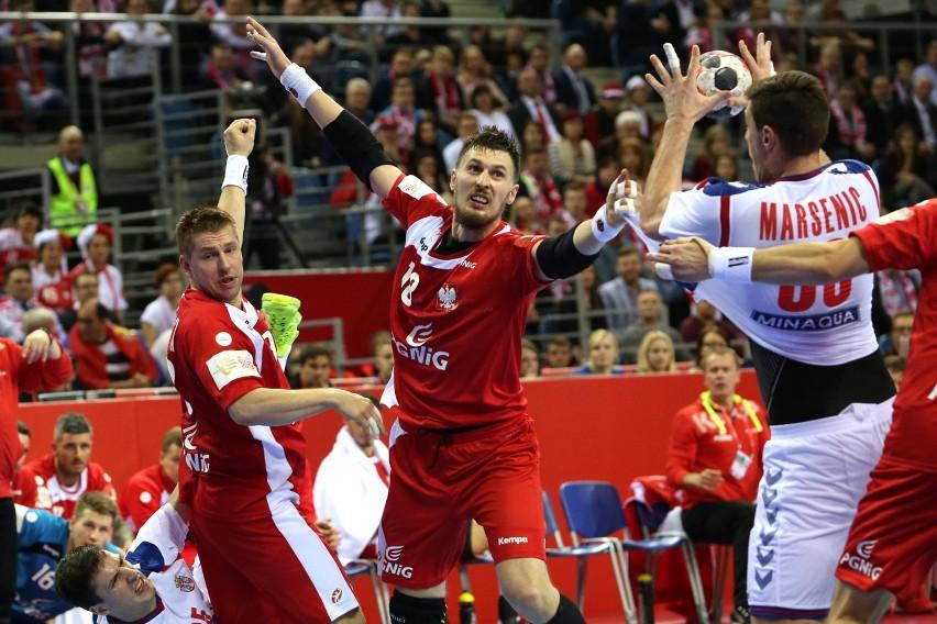 Polska-Serbia. Mecz Mistrzostw Europy w piłce ręcznej mężczyzn