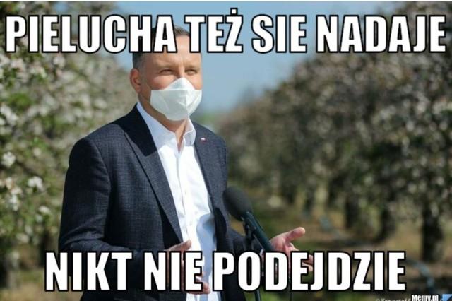 Maska ochronna nowym obowiązkiem Polaków. Internauci oswajają rzeczywistość memamiZobacz kolejne zdjęcia. Przesuwaj zdjęcia w prawo - naciśnij strzałkę lub przycisk NASTĘPNE
