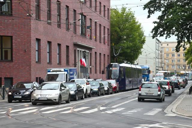 Na ulicy Sądowej w centrum Wrocławia powstanie ścieżka rowerowa.