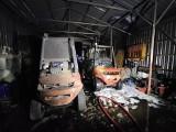 Pożary w fabryce ceramiki i w tartaku. Strażacy mieli pracowity wieczór ZDJĘCIA