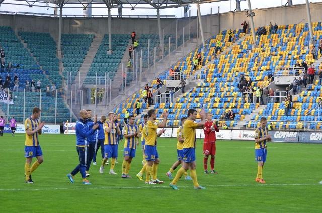 Arka Gdynia wygrała z Puszczą 3:2