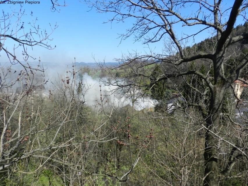 Pożar w Karpaczu Dolnym