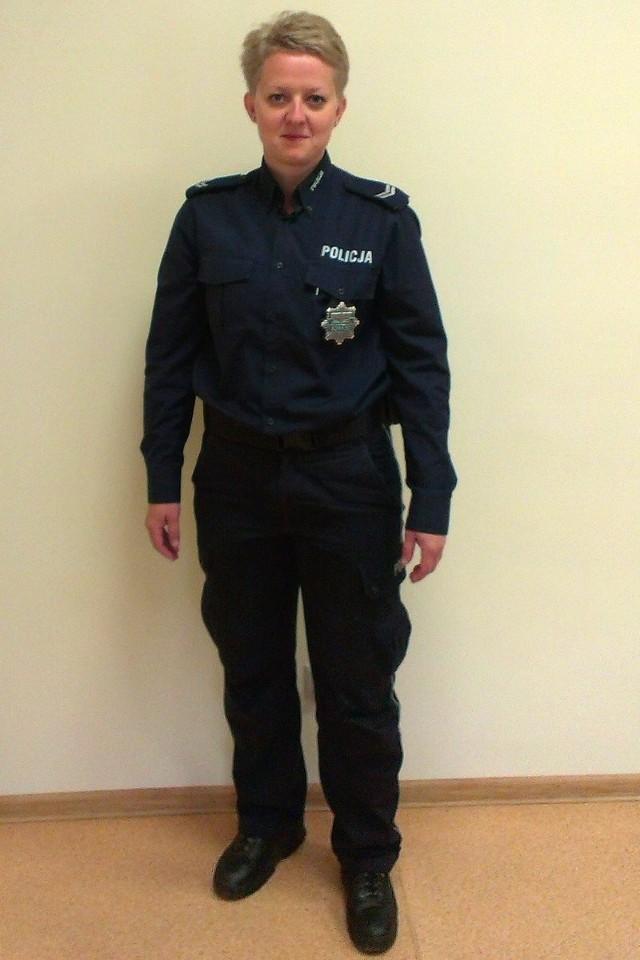 Aby zagłosować na st. sierż. Elizę Kusiak wyślij SMS o treści POLICJANT.23 na numer 7155 (koszt 1.23 zł z VAT)