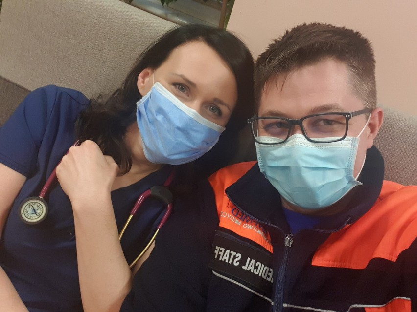 Agata i Szymon, anestezjolożka i ratownik medyczny...