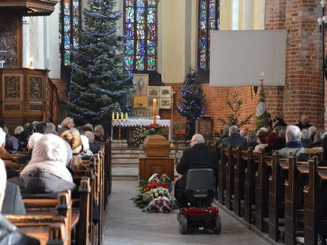Uroczystość żałobna odbyła się w bazylice mniejszej
