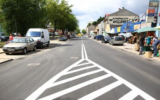 Oficjalnie ulica Struga jest jeszcze zamknięta dla ruchu. Ma się to zmienić w sobotę.