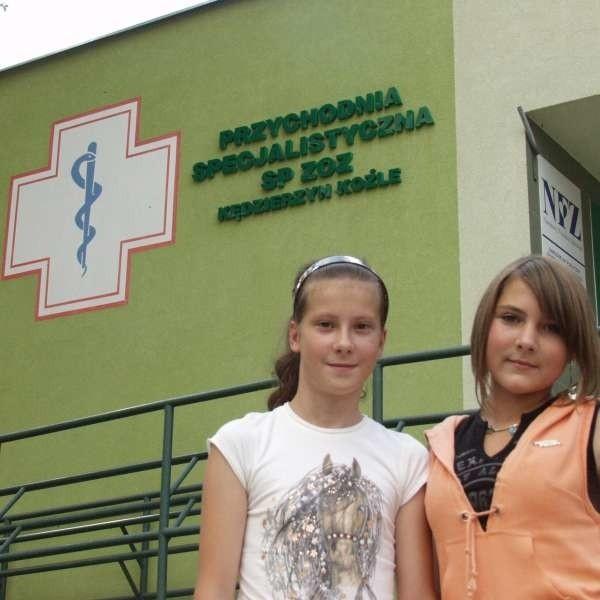 - My na pewno się zaszczepimy - mówią Ewelina Grabowska (z lewej) i Magdalena Wrotny.