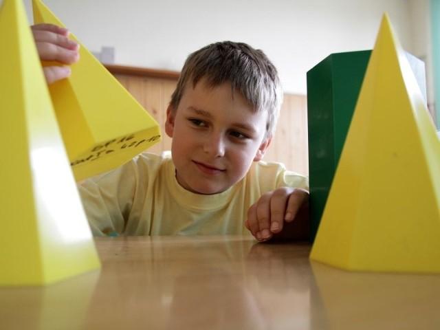Dominik Myśliwiec z SP nr 16 jest najlepszym matematykiem w Podlaskiem w kategorii klas 3-4