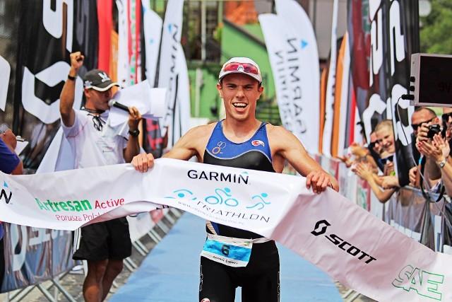 Gdynianin Adam Głogowski w latach 2009-20016 startował także w zawodach triathlonowych