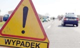 Groźna kolizja pod Borównem. Zderzyły się trzy auta