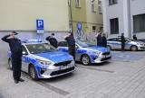 Syreny radiowozów zawyły w Inowrocławiu. Policjanci uczcili kolegę z Raciborza [zdjęcia, wideo]