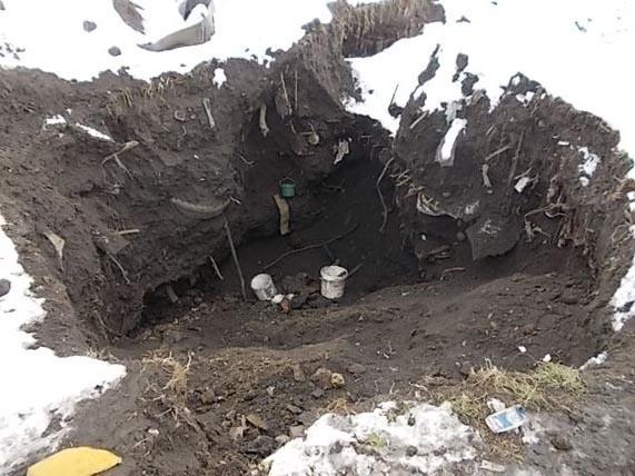 Zniszczony wał w Kędzierzynie-Koźle
