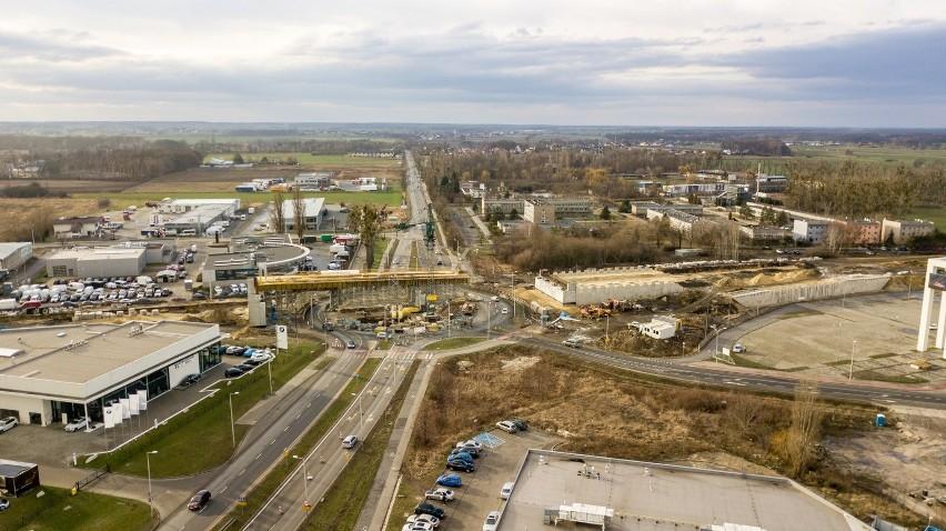 Kolejne utrudnienia w rejonie budowy obwodnicy piastowskiej w Opolu