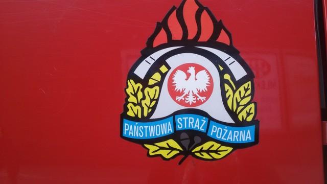 W sklepie w Mysłowicach wybuchł pożar