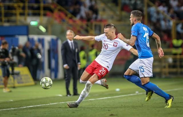 Piękny gol Piotra Zielińskiego w meczu Włochy - Polska