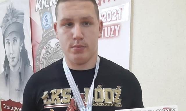 Wicemistrz Polski - Oskar Seidel.