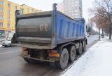 Ciężarówka uderzyła w tramwaj  na Wojska Polskiego [zdjęcia]