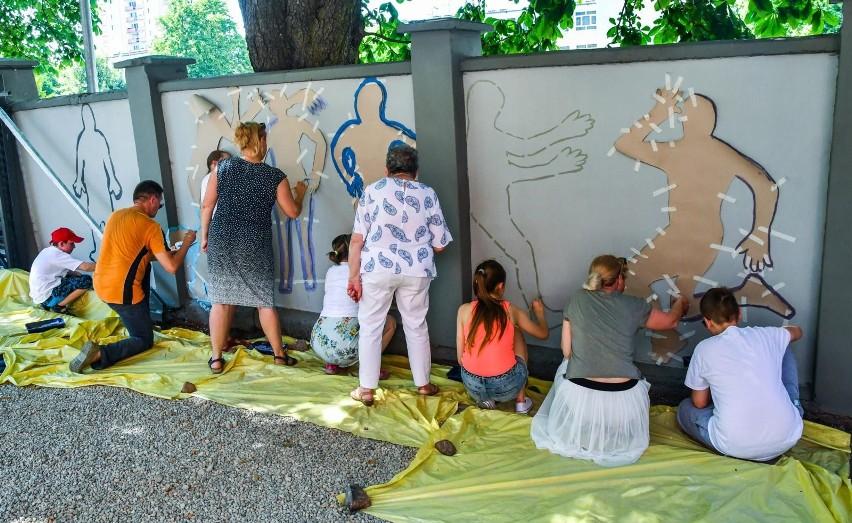 Na ulicy Karpackiej 52 w Bydgoszczy w sobotę (19 czerwca...