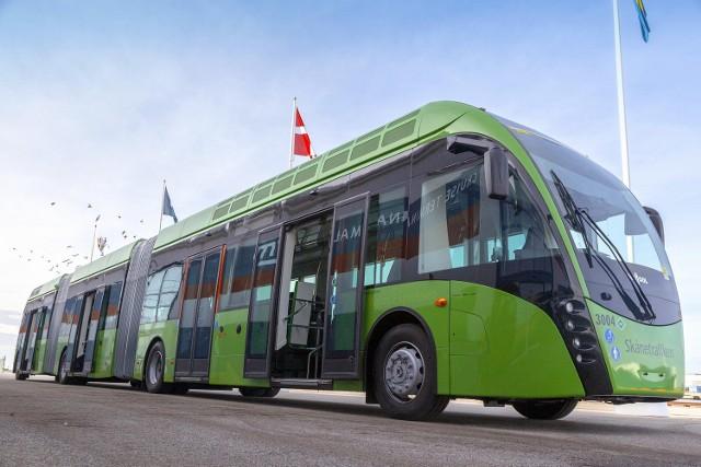 Tak wygląda hybrydowy autobus gazowo-elektryczny exqui.city o długości 24 m dla szwedzkiego Malmö. Powstał w belgijskiej firmie Van Hool. O podobne hybrydy starał się Szczecin.