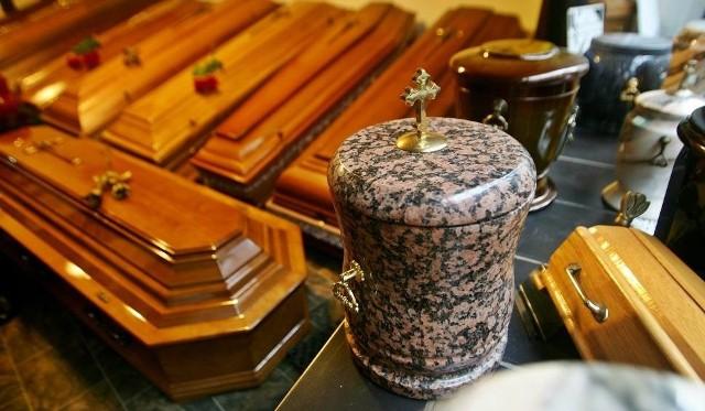 Właściciel zakładu pogrzebowego w Katowicach okradał Skarb Państwa