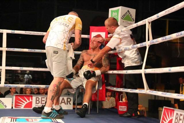 Przemysław Gorgoń (w środku) pokazał w Rydze dobry boks