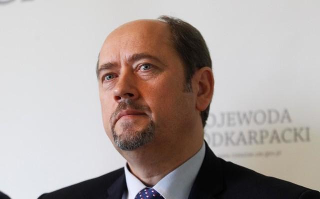 Senator Mieczysław Golba sprawuje funkcję prezesa Podkarpackiego Związku Piłki Nożnej od 27 lutego 2016 r.