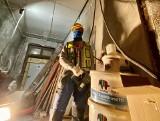 Pracownicy z łódzkich placów budowy bezpieczni podczas epidemii? ZDJĘCIA