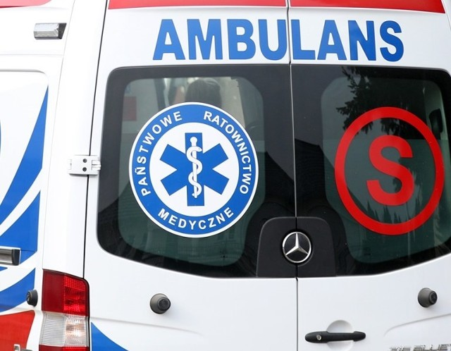 80-latka została potrącona na pasach w Zielonej Górze